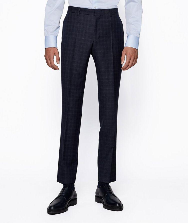 Novan6/Ben2 Checked Wool Suit image 3