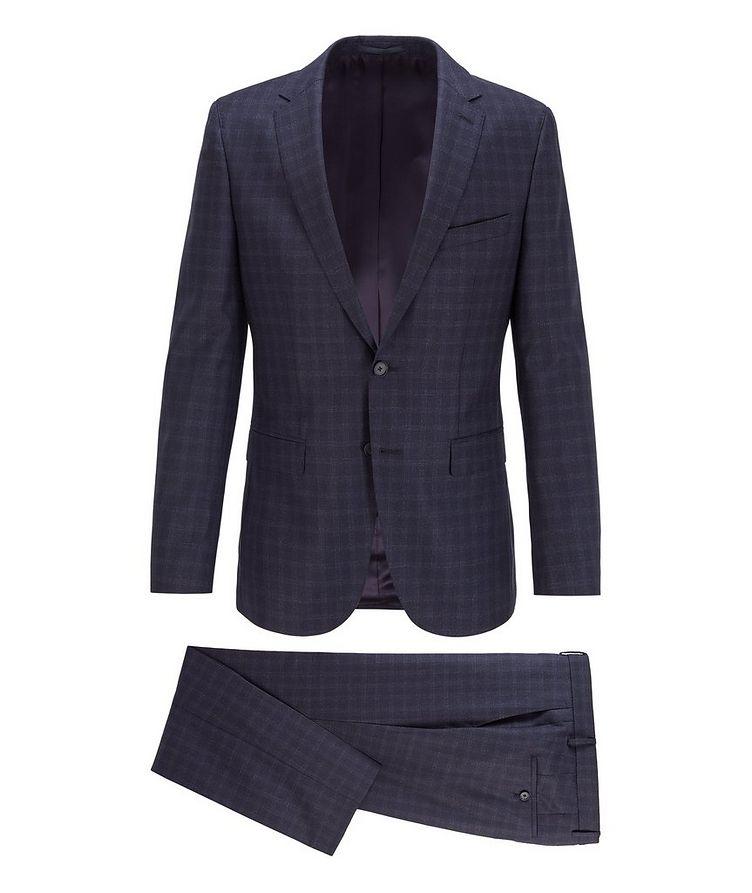 Novan6/Ben2 Checked Wool Suit image 0