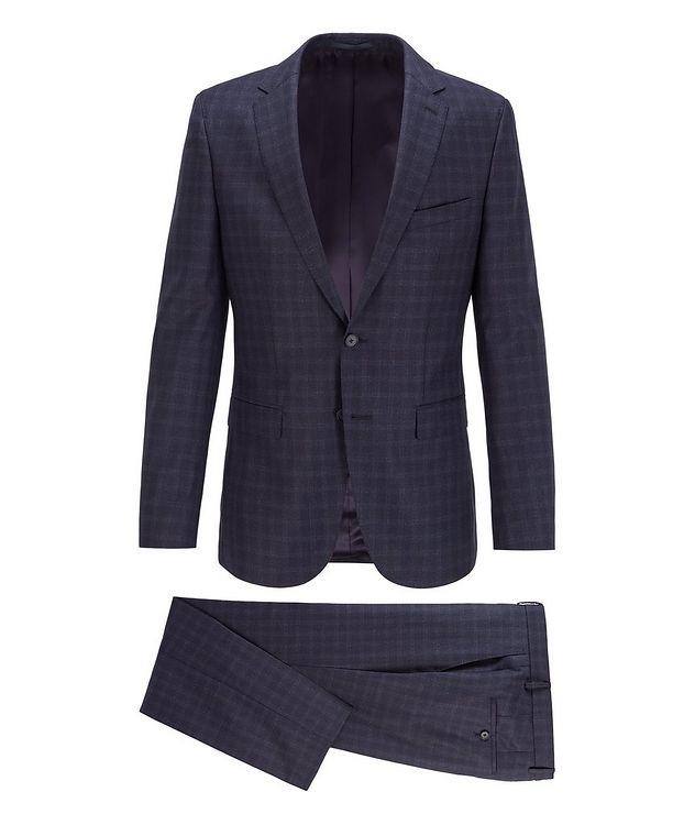 Novan6/Ben2 Checked Wool Suit picture 1