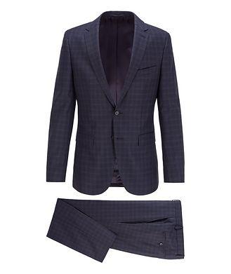 BOSS Novan6/Ben2 Checked Wool Suit