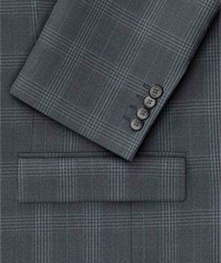 Huge6/Genius5 Glen Check Wool Suit image 1