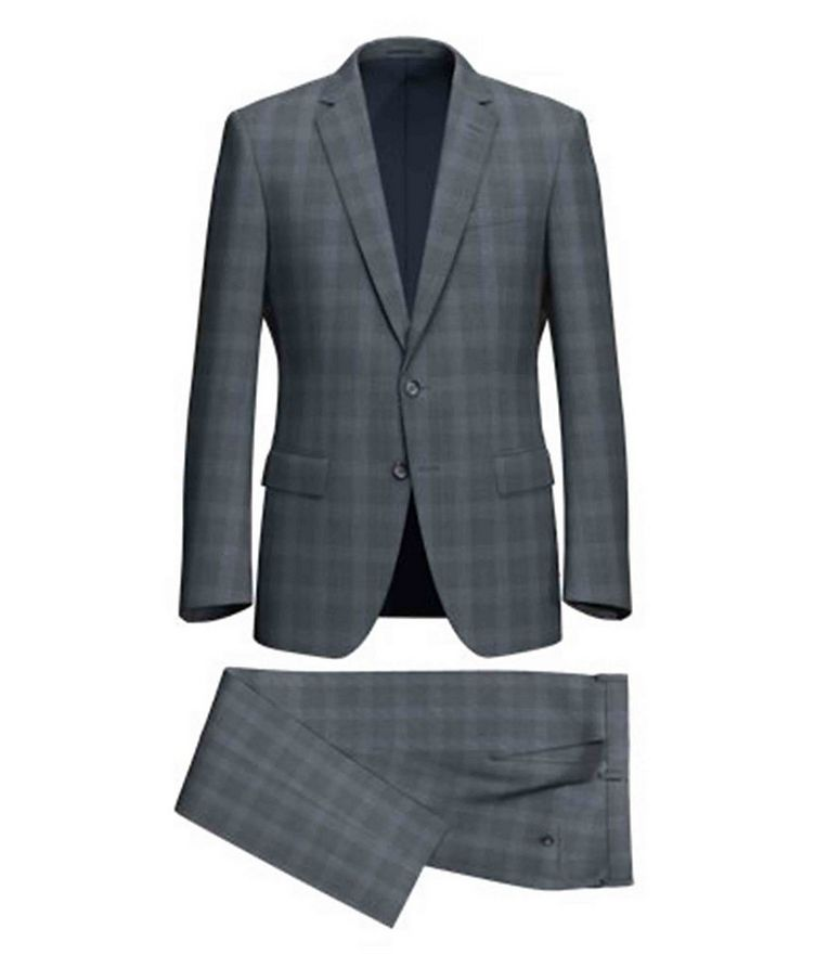 Huge6/Genius5 Glen Check Wool Suit image 0