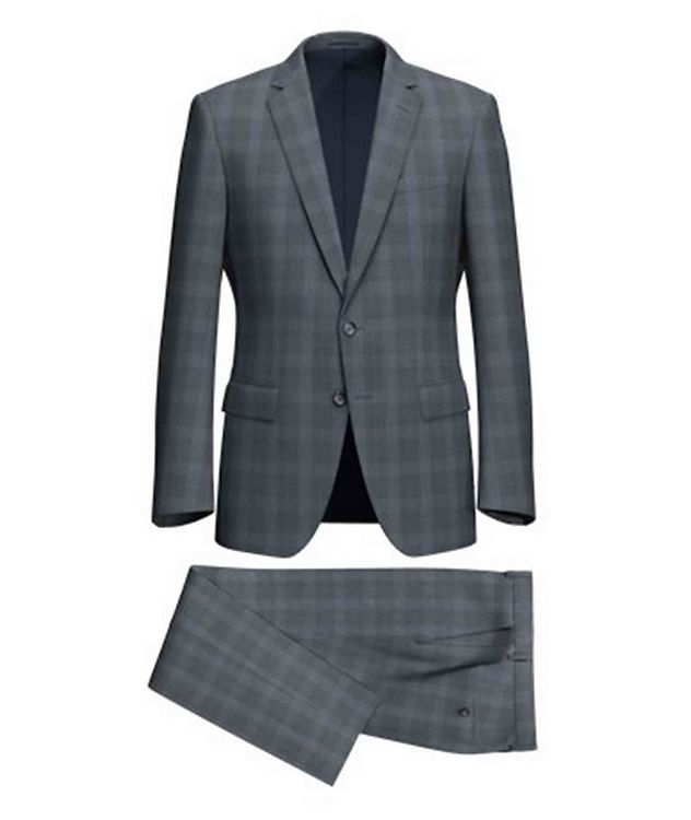 Huge6/Genius5 Glen Check Wool Suit picture 1