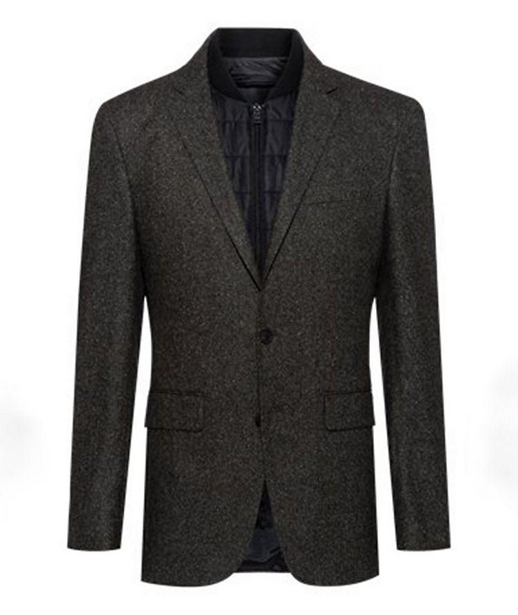 Hadik2 Speckled Wool-Blend Sports Jacket image 0