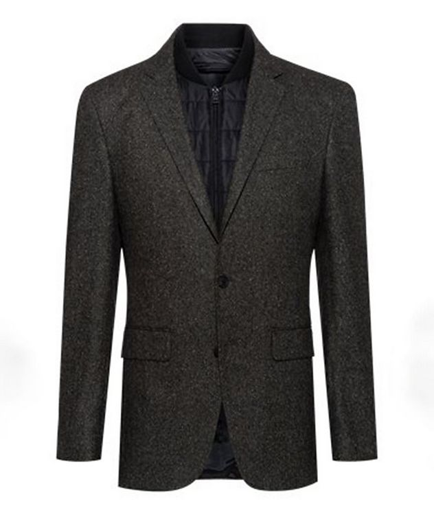 Hadik2 Speckled Wool-Blend Sports Jacket picture 1