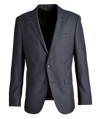 BOSS Novan6 Slim-Fit Checked Sports Jacket