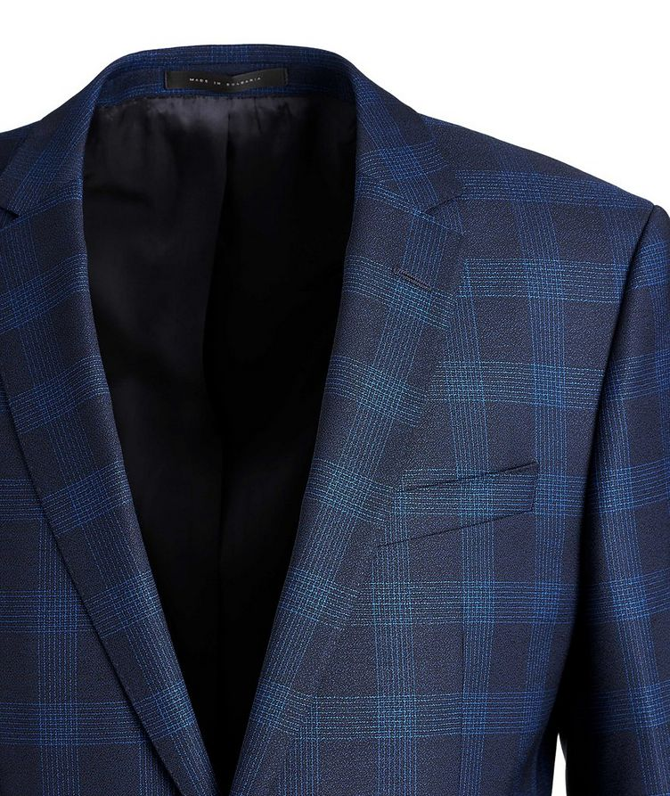 Huge6/Genius5 Slim-Fit Checked Wool Suit image 1