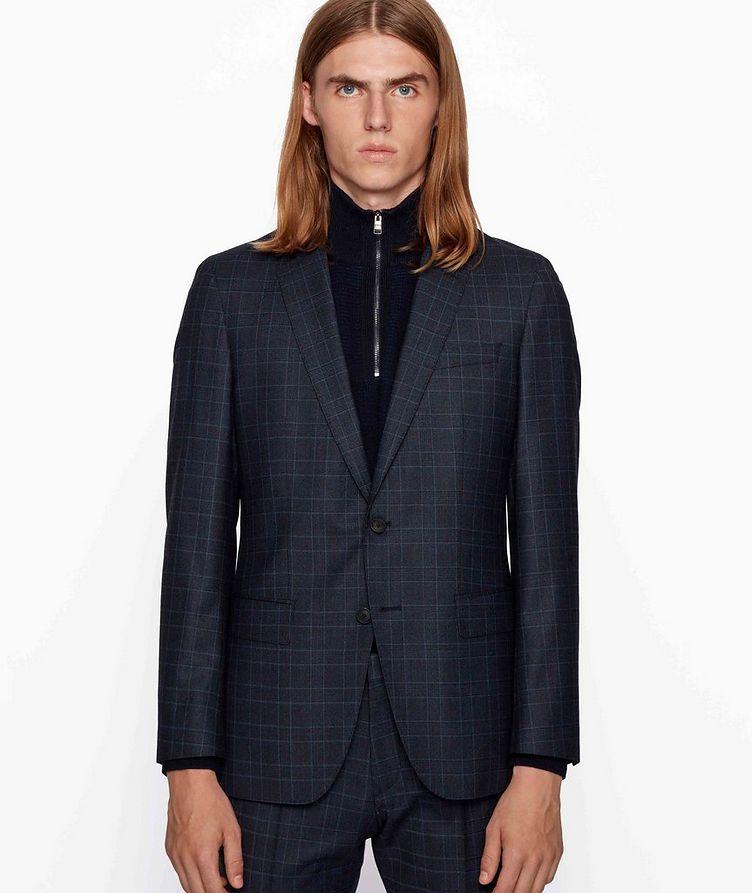 Herrel/Grace Slim-Fit Stretch-Wool Suit image 1