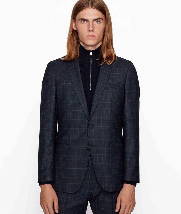 Herrel/Grace Slim-Fit Stretch-Wool Suit picture 2