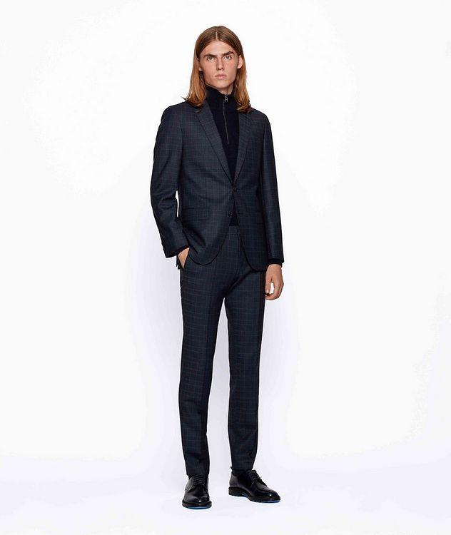 Herrel/Grace Slim-Fit Stretch-Wool Suit picture 4
