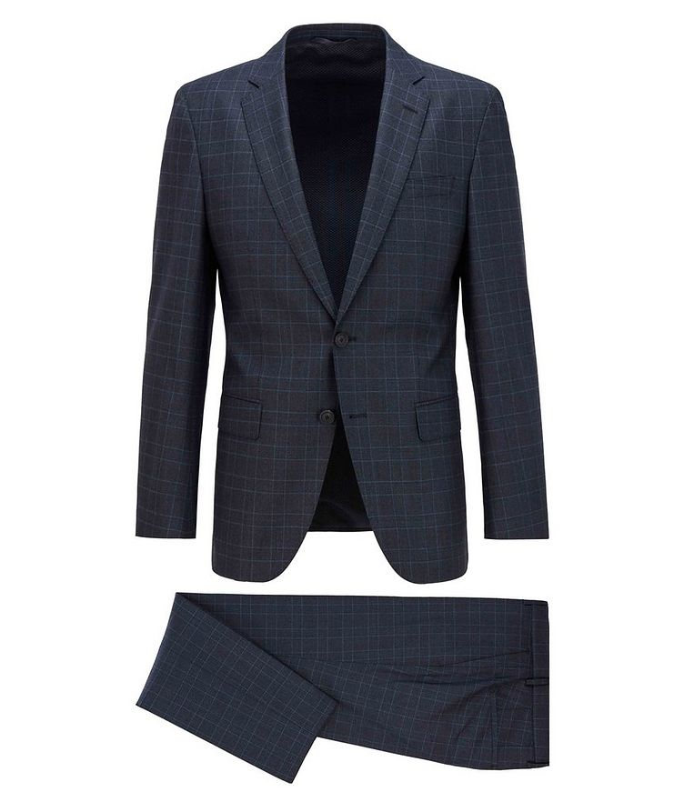 Herrel/Grace Slim-Fit Stretch-Wool Suit image 0