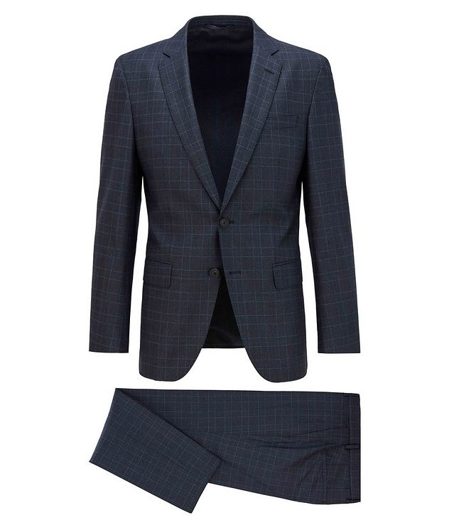 Herrel/Grace Slim-Fit Stretch-Wool Suit picture 1