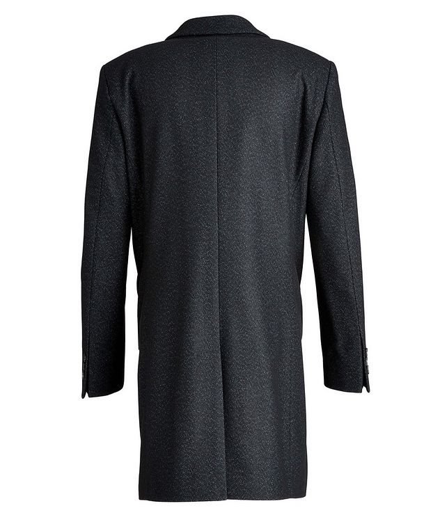 Nye2 Slim-Fit Wool-Blend Coat picture 2