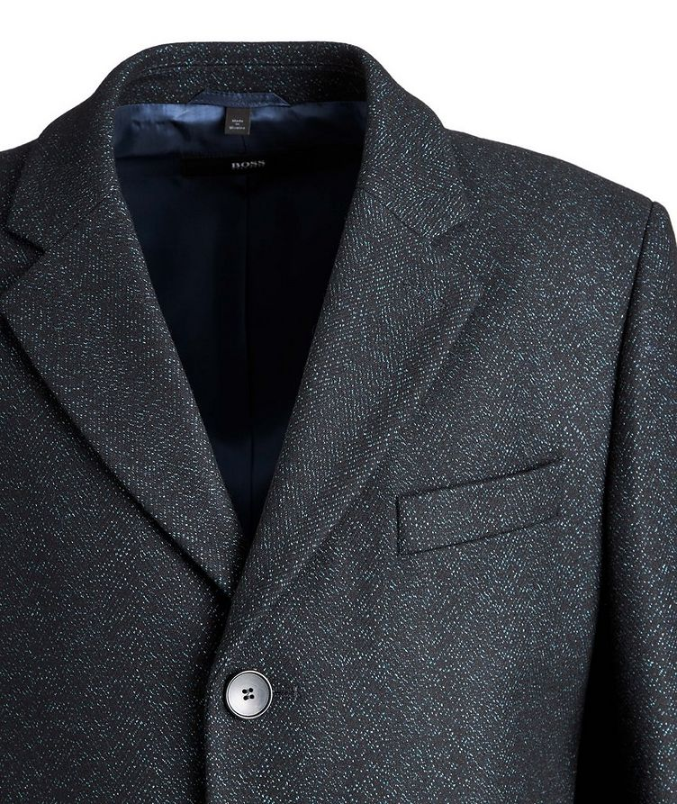 Nye2 Slim-Fit Wool-Blend Coat image 2