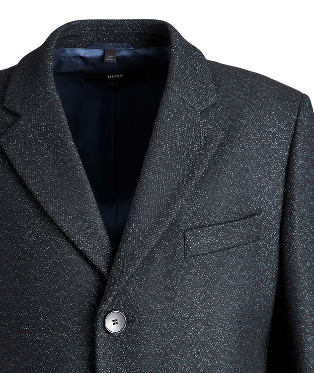 Nye2 Slim-Fit Wool-Blend Coat picture 3