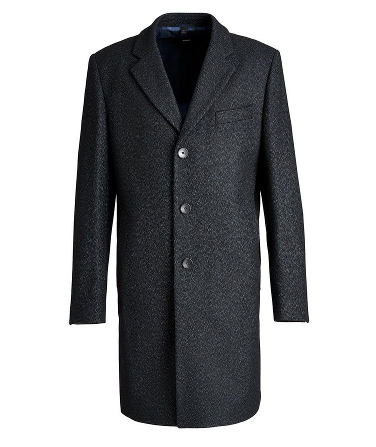 Nye2 Slim-Fit Wool-Blend Coat image 0