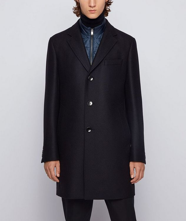 Nadim4 Wool-Blend Coat picture 2