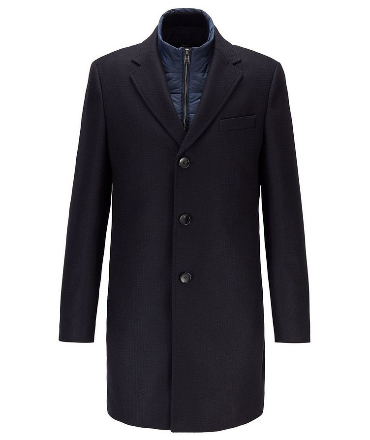 Nadim4 Wool-Blend Coat image 0