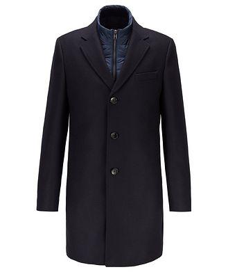 BOSS Nadim4 Wool-Blend Coat