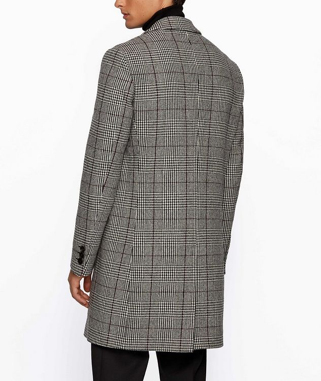 Glen Check Wool Coat picture 3