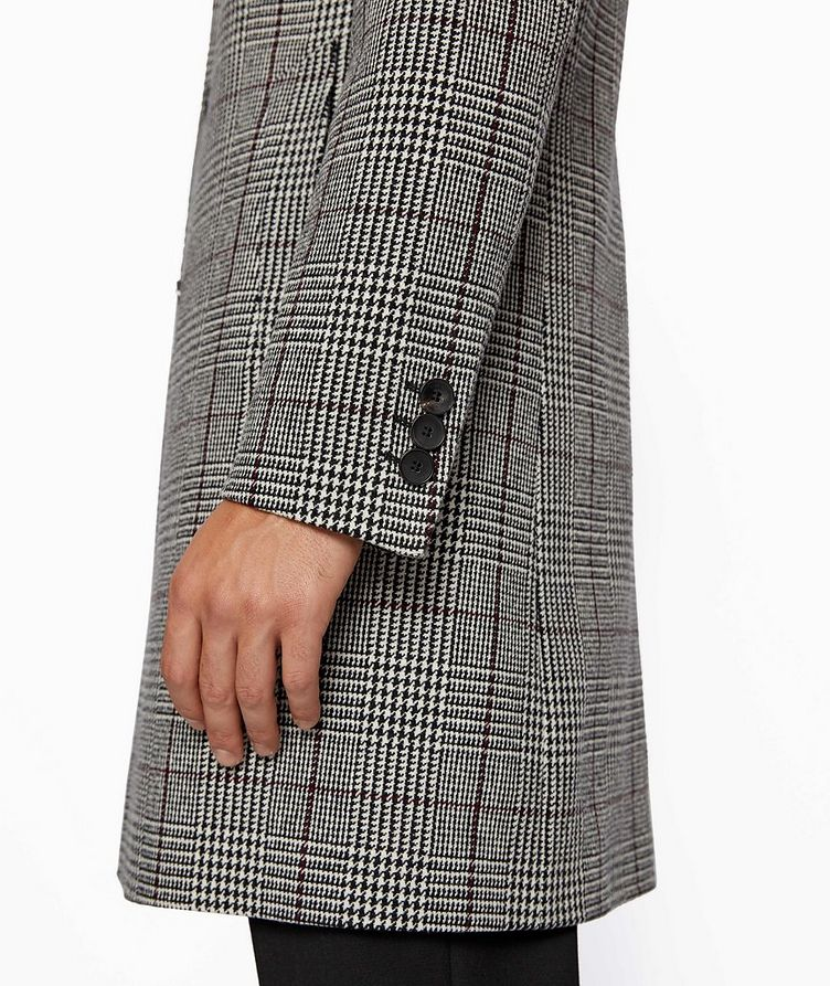 Glen Check Wool Coat image 3