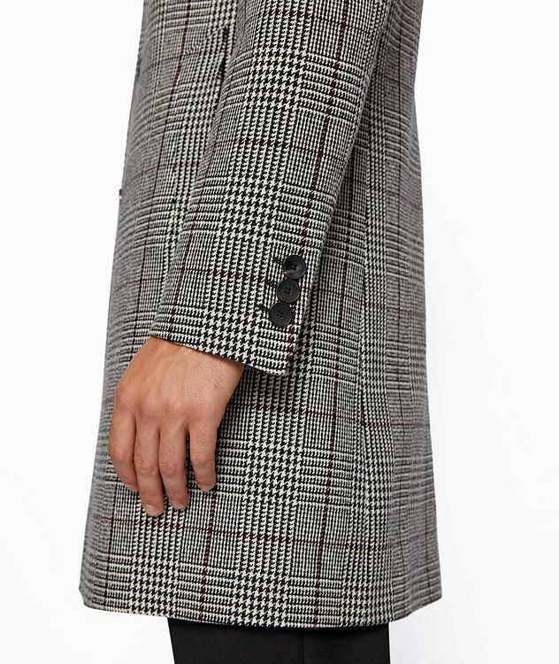 Glen Check Wool Coat picture 4