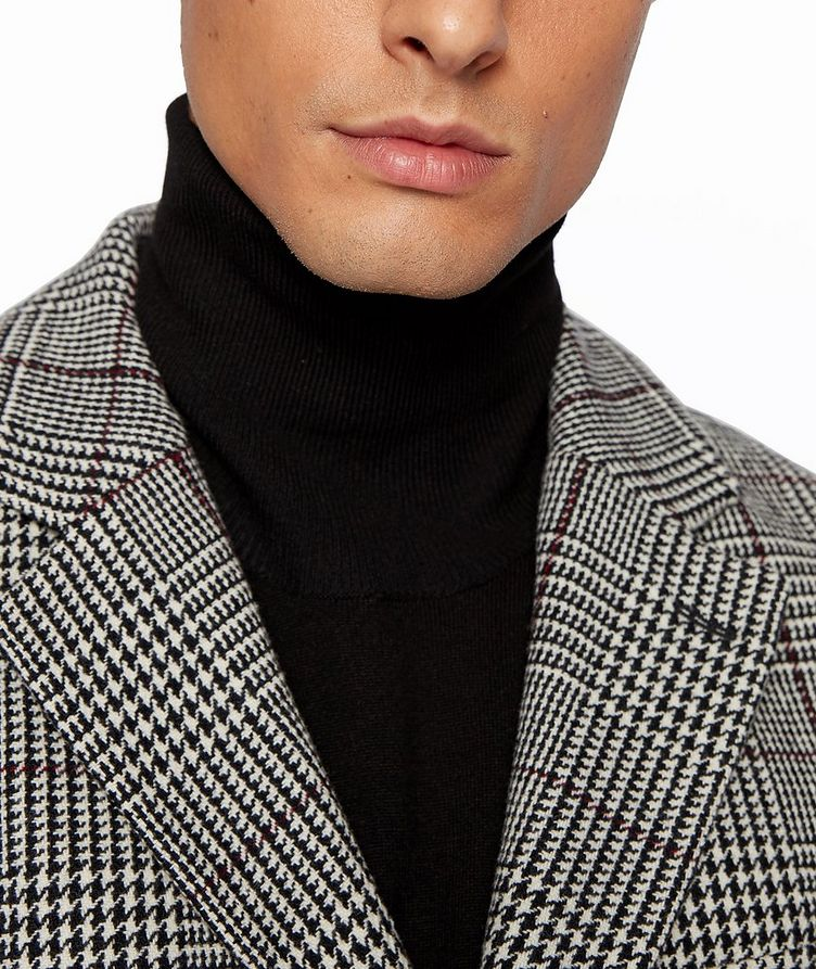 Glen Check Wool Coat image 4