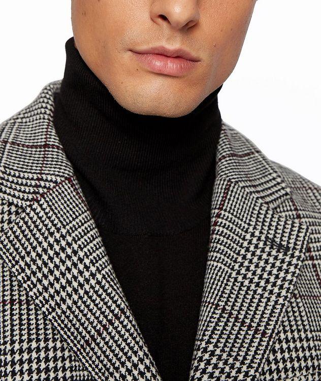 Glen Check Wool Coat picture 5