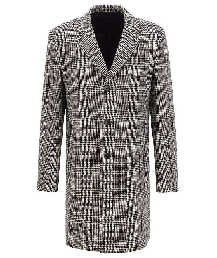 Glen Check Wool Coat image 0