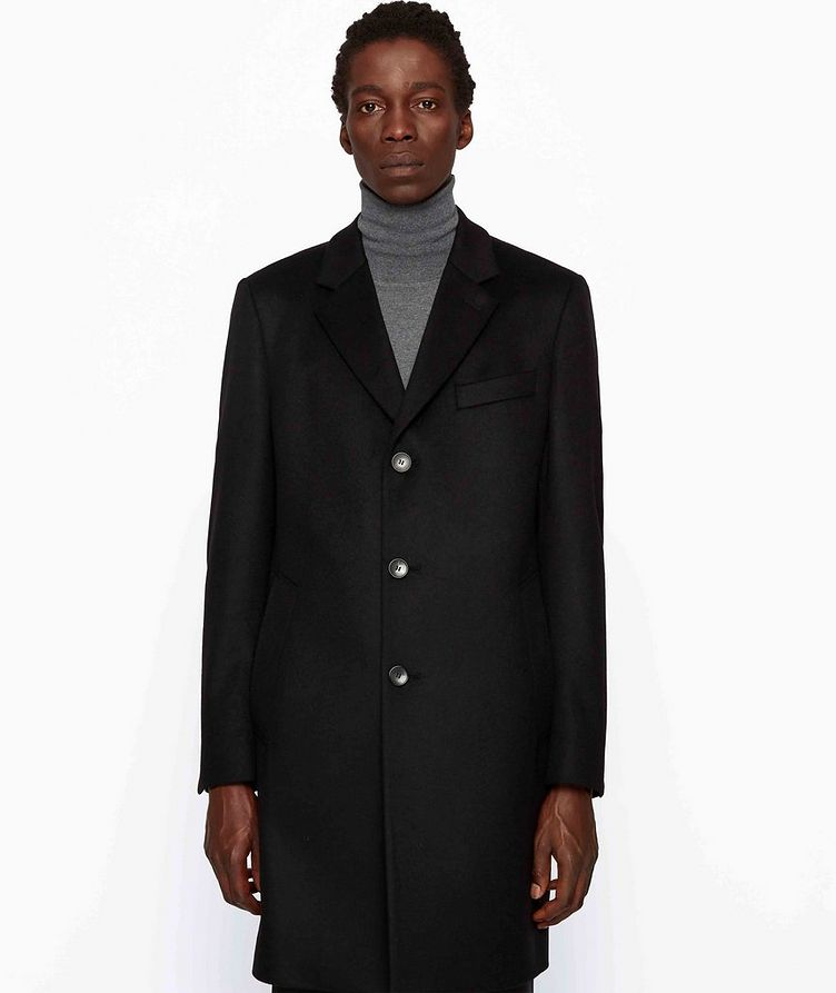 Slim Wool-Cashmere Overcoat image 2