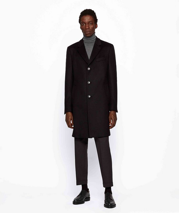 Slim Wool-Cashmere Overcoat image 5