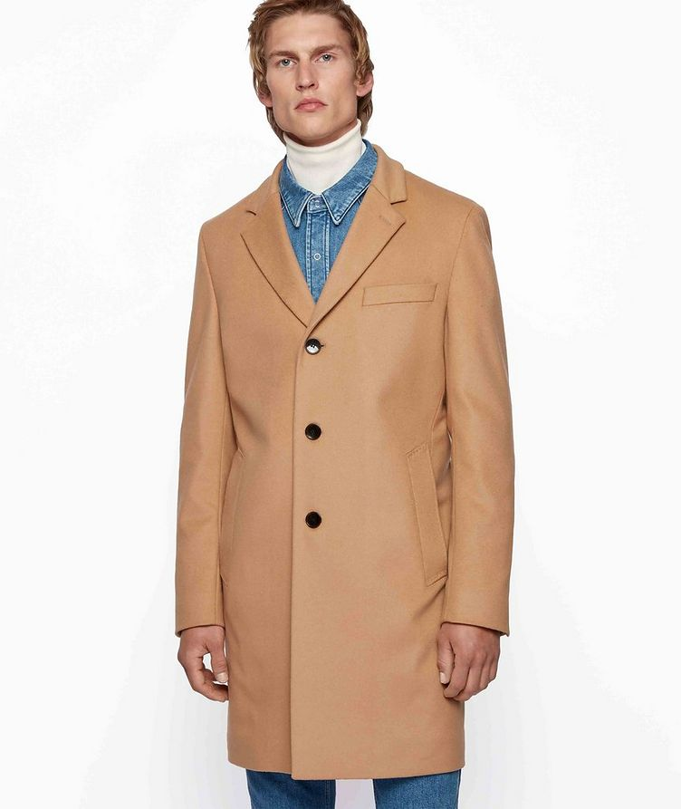 Slim Wool-Cashmere Overcoat image 1