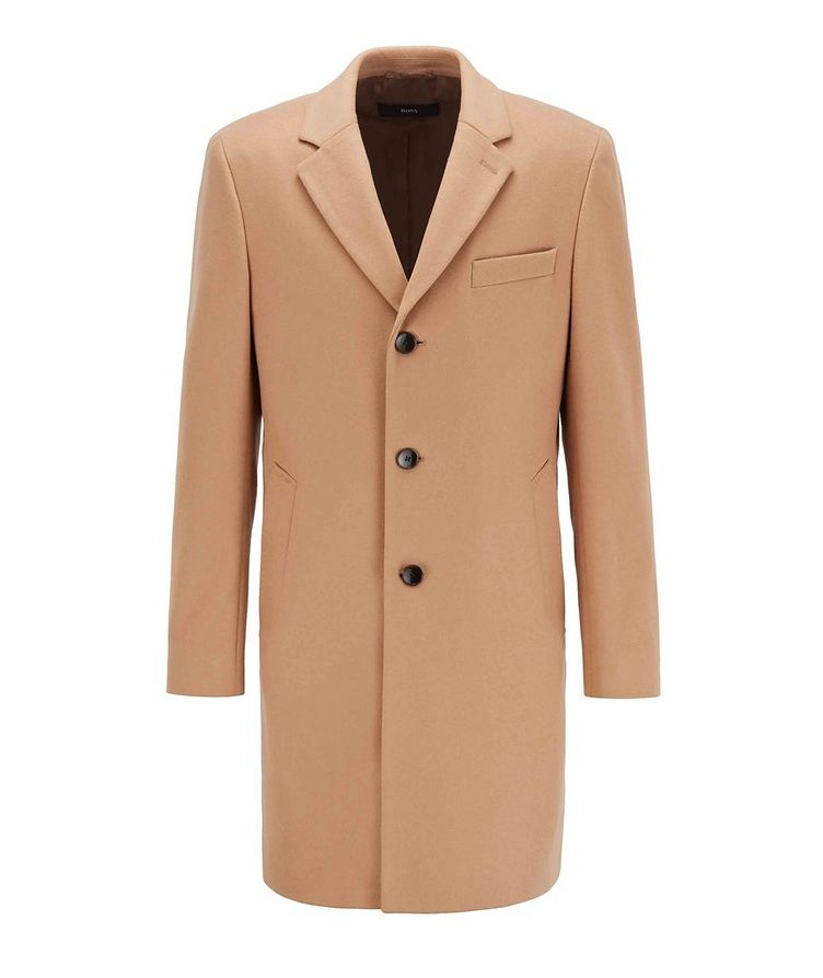 Slim Wool-Cashmere Overcoat image 0