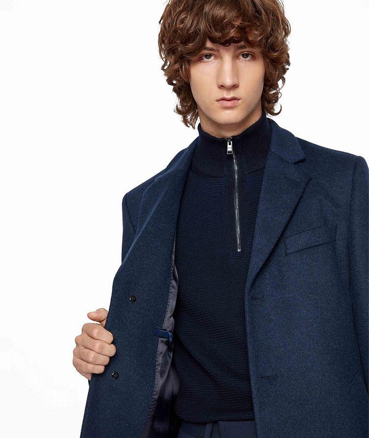 Slim Wool-Cashmere Overcoat image 3