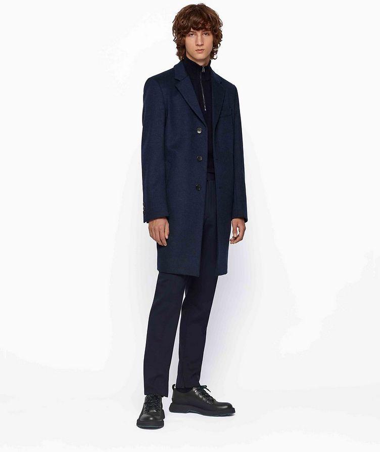 Slim Wool-Cashmere Overcoat image 4