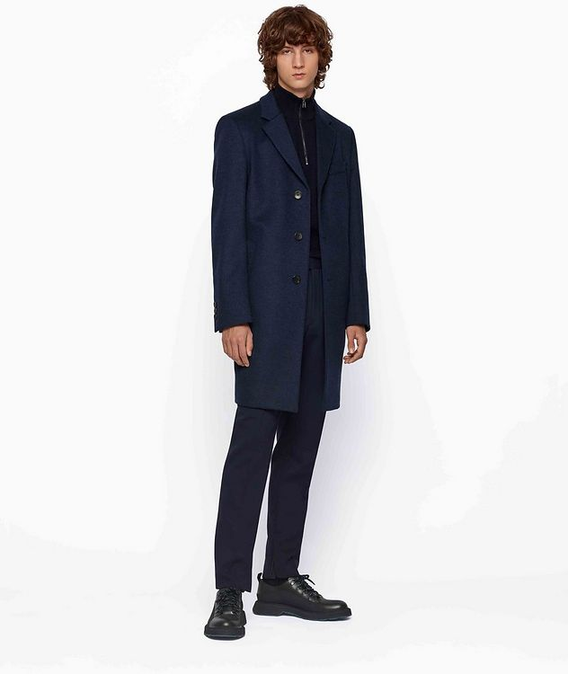 Slim Wool-Cashmere Overcoat picture 5