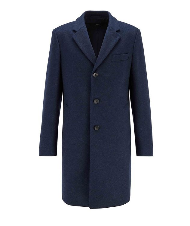 Slim Wool-Cashmere Overcoat picture 1