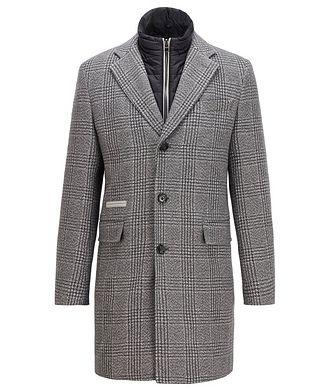 BOSS Nido2 Check Coat