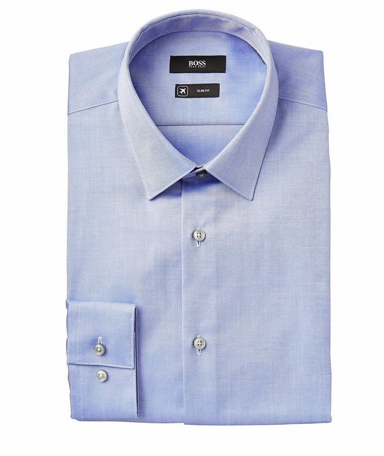 Isko Slim-Fit Travel Dress Shirt image 0