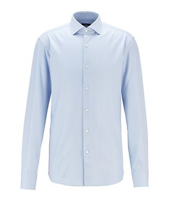 BOSS Chemise en coton de coupe contemporaine