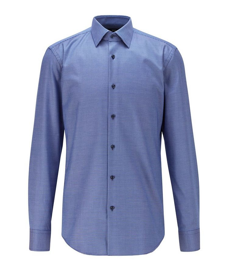 Slim-Fit Aloe Vera-Cotton Dress Shirt image 0