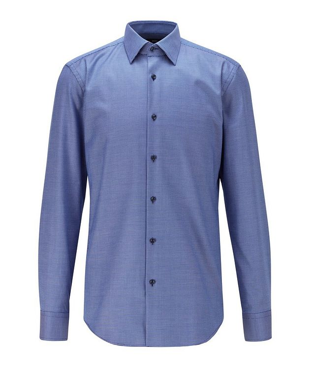 Slim-Fit Aloe Vera-Cotton Dress Shirt picture 1