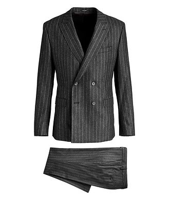 BOSS Sean/Upton Double-Breasted Pinstriped Suit