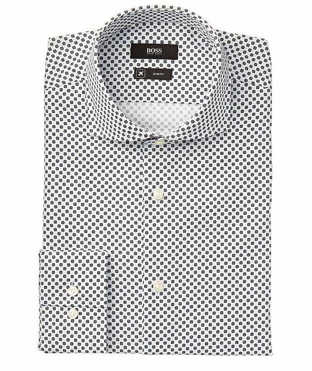 Jason Slim-Fit Cotton-Lyocell Dress Shirt picture 1