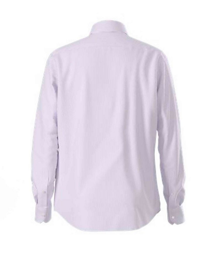 Thermo-Regulating Striped Dress Shirt image 1