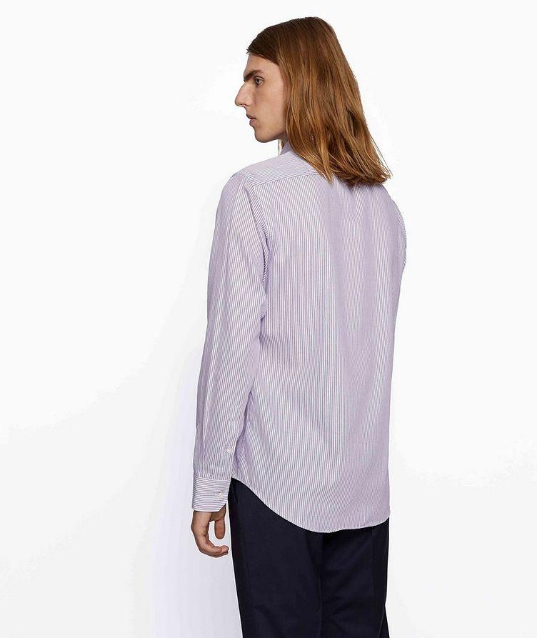 Thermo-Regulating Striped Dress Shirt image 3