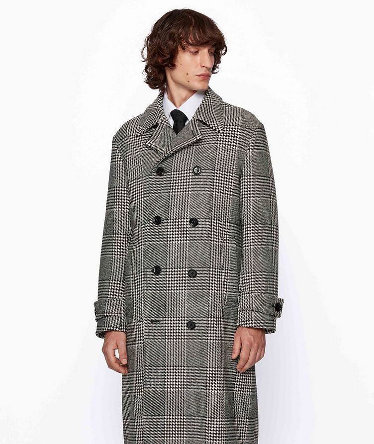 Godeon Double-breasted Wool Coat image 1