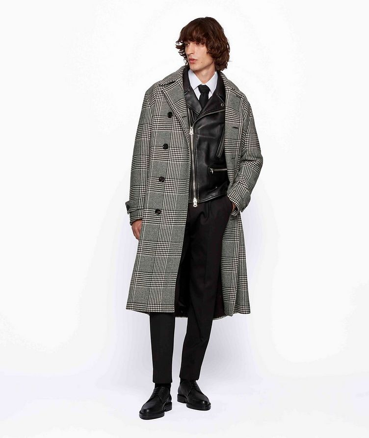 Godeon Double-breasted Wool Coat image 3