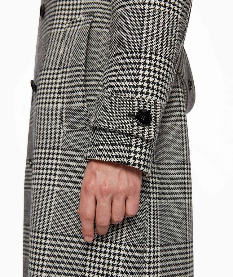 Godeon Double-breasted Wool Coat image 4