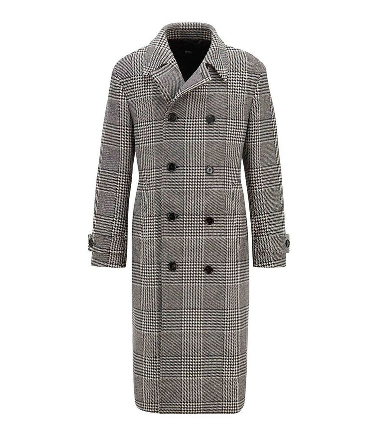 Godeon Double-breasted Wool Coat image 0